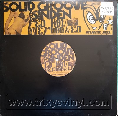 Click to view Solid Groove & Sinden - Over Booked / Red Hot