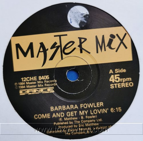 Click to view barbara fowler - come and get my lovin