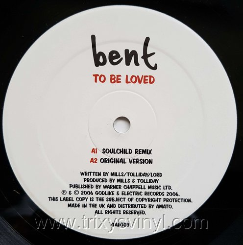 Click to view bent - to be loved