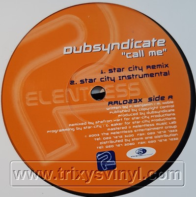 Click to view dubsyndicate - call me