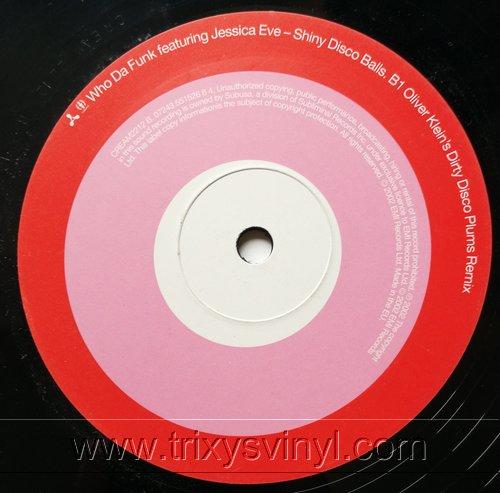 Click to view Who Da Funk Featuring Jessica Eve - Shiny Disco Balls