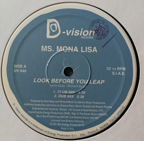 Ms mona lisa - Look before you leap