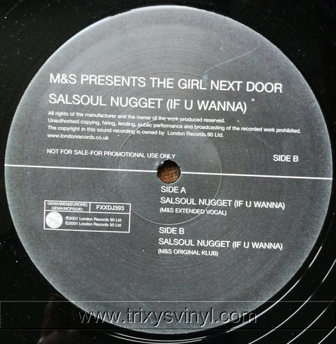 Click to view the girl next door - salsoul nugget if u wanna