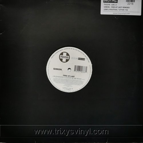 SIMON - Free at last remixes