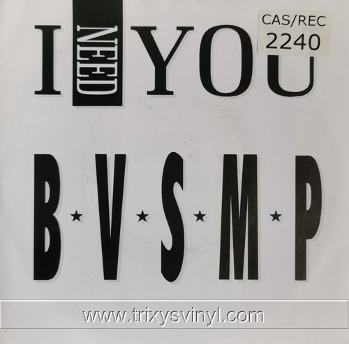 Click to view BVSMP - I need you